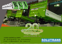 Stand solutrans 2011- bennes RCI